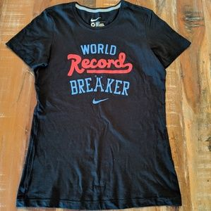 Nike Slim Fit Graphic World Record BreakerT-Shirt